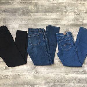 Girls size 14 jeans bundle